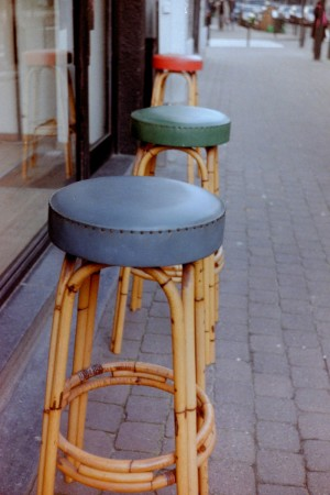 Three of the Same Seats on the Street