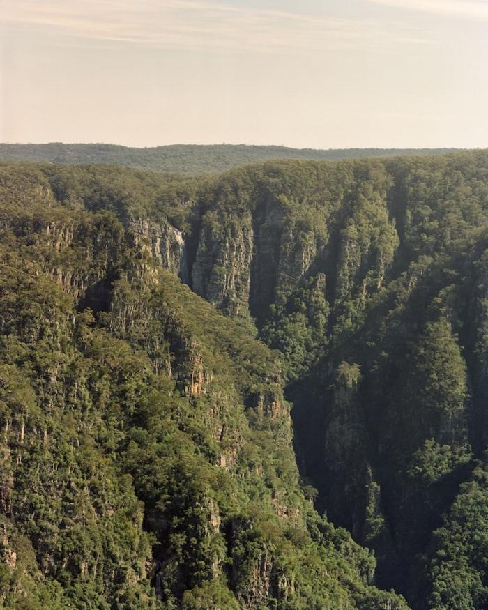 Kanangra Falls and Thurat Walls