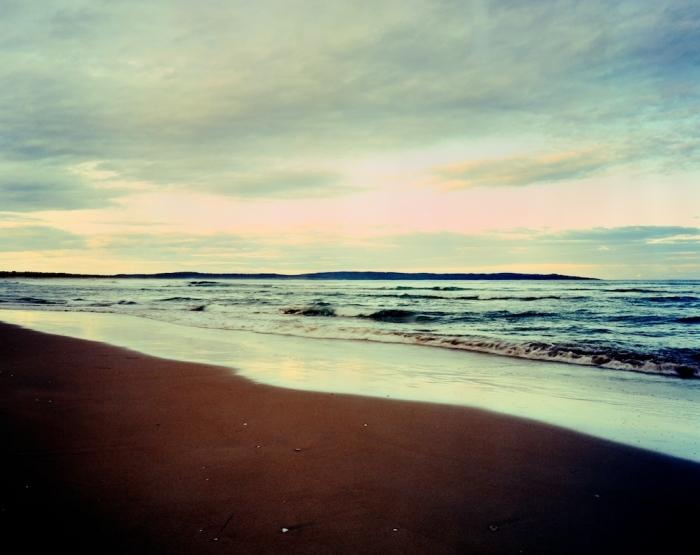 Bherwerre Beach at dusk
