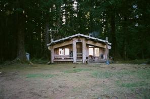 Watchmen's cabin, Haida-style