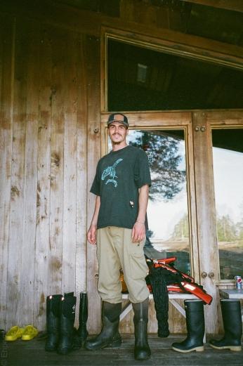 Gwaliga, Haida archaeologist, artist and friend