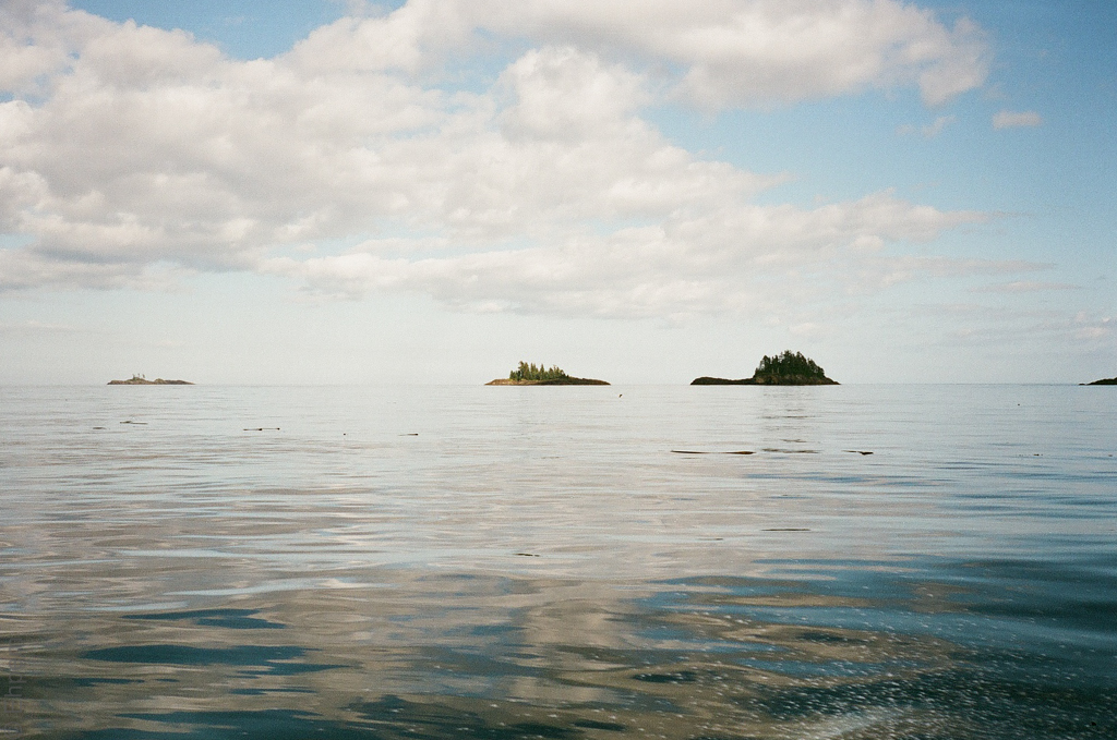 Hecate Strait east of Lyell Island 1