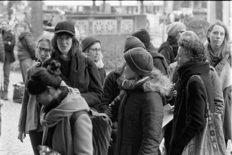 Berlin Photography Crowd