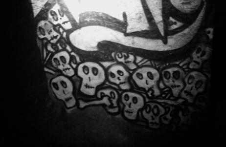 The obligatory skulls