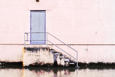 Door and Stairway