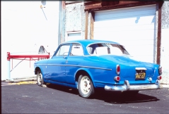 Blue Car 2
