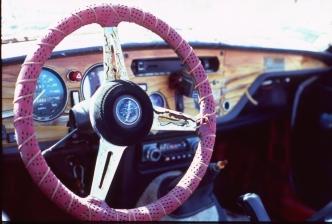 Pink Steering Wheel