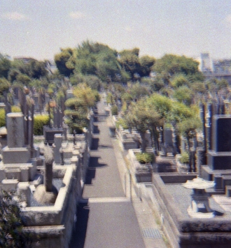 Yokohama shrine cemetery001